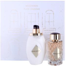 Boucheron Place Vendôme zestaw upominkowy II. woda perfumowana 100 ml + mleczko do ciała 200 ml