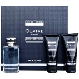 Boucheron Quatre Geschenkset I. Eau de Toilette 100 ml + After Shave Balsam 100 ml + Duschgel 100 ml