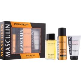 Bourjois Masculin Equateur Gift Set  I.  Eau de Toilette 100 ml + Antitranspirant  200 ml + Douchegel 150 ml