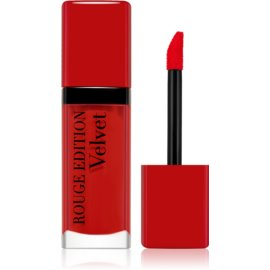 Bourjois Rouge Edition Velvet barra de labios líquida con efecto mate tono 03 Hot Pepper 7,7 ml