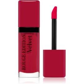 Bourjois Rouge Edition Velvet barra de labios líquida con efecto mate tono 05 OLé Flamingo! 7,7 ml