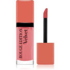 Bourjois Rouge Edition Velvet barra de labios líquida con efecto mate tono 07 Nude-Ist 7,7 ml