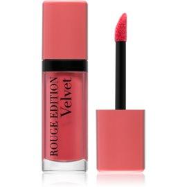 Bourjois Rouge Edition Velvet barra de labios líquida con efecto mate tono 09 Happy Nude 7,7 ml