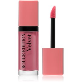 Bourjois Rouge Edition Velvet barra de labios líquida con efecto mate tono 10 Don´t Pink Of It! 7,7 ml