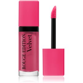 Bourjois Rouge Edition Velvet barra de labios líquida con efecto mate tono 11 Hap´pink 7,7 ml