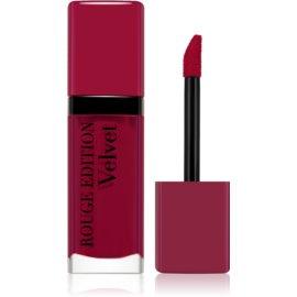 Bourjois Rouge Edition Velvet barra de labios líquida con efecto mate tono 14 Plum Plum Girl 7,7 ml