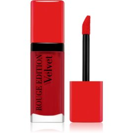 Bourjois Rouge Edition Velvet barra de labios líquida con efecto mate tono 15 Red-volution 7,7 ml