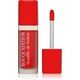 Bourjois Rouge Edition Souffle de Velvet tekoča šminka odtenek 02 Coquelic`oh!  7,7 ml