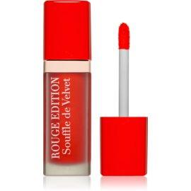 Bourjois Rouge Edition Souffle de Velvet tekoča šminka odtenek 03 VIPeach  7,7 ml