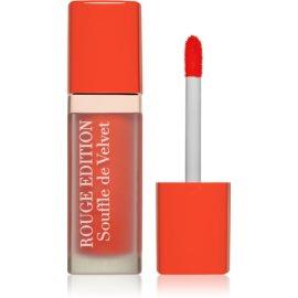 Bourjois Rouge Edition Souffle de Velvet tekoča šminka odtenek 04 Ravie En Rose  7,7 ml