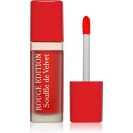 Bourjois Rouge Edition Souffle de Velvet tekoča šminka odtenek 06 Cherryleaders  7,7 ml