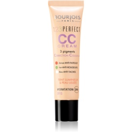 Bourjois 123 Perfect CC cream per un look perfetto immediato colore Hale Bronze 34 SPF 15  30 ml