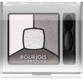 Bourjois Smoky Stories paleta zasenčenih senčil za oči odtenek 01 Grey & Night 3,2 g