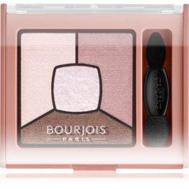 Bourjois Smoky Stories paleta zasenčenih senčil za oči odtenek 02 Over Rose 3,2 g