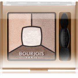 Bourjois Smoky Stories paleta zasenčenih senčil za oči odtenek 06 Upside Brown 3,2 g