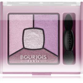Bourjois Smoky Stories paleta zasenčenih senčil za oči odtenek 07 In Mauve Again 3,2 g