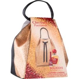 Bourjois Clin d'Oeil Passionnée darčeková sada I.  toaletná voda 75 ml + lak na nechty 9 ml + kozmetická taška 1 ks