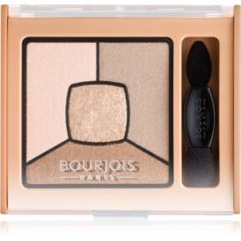 Bourjois Smoky Stories paleta zasenčenih senčil za oči odtenek 13 Taupissime 3,2 g