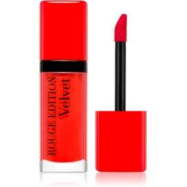 Bourjois Rouge Edition Velvet barra de labios líquida con efecto mate tono 20 Poppy Days 7,7 ml