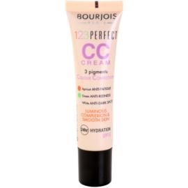 Bourjois 123 Perfect CC Creme für einen blitzschnellen, perfekten Look  Farbton Beige Rose 33 SPF 15  30 ml