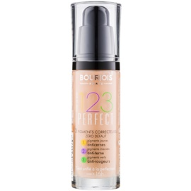 Bourjois 123 Perfect Flüssiges Make Up für einen perfekten Look Farbton 57 Hale Clair SPF 10  30 ml