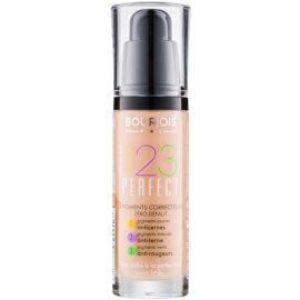 Bourjois 123 Perfect fond de ten lichid  pentru look perfect culoare 57 Hale Clair SPF 10  30 ml