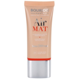 Bourjois Air Mat fond de teint matifiant teinte 01 Rose Ivory 30 ml