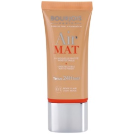 Bourjois Air Mat fond de teint matifiant teinte 03 Light Beige 30 ml