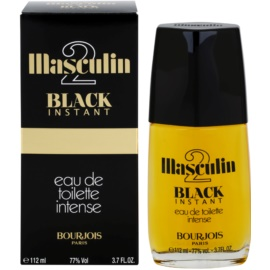Bourjois Masculin 2 Black Instant eau de toilette férfiaknak 112 ml