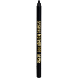 Bourjois Contour Clubbing lápis de olhos resistente à água tom 54 Ultra Black 1,2 g