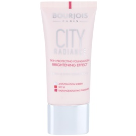 Bourjois City Radiance schützendes Make-up SPF 30 Farbton 01 Rose Ivory  30 ml