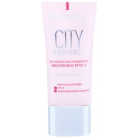 Bourjois City Radiance védő make-up SPF 30 árnyalat 02 Vanilla  30 ml