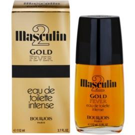 Bourjois Masculin 2 Gold Fever Eau de Toilette para homens 112 ml