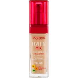 Bourjois Healthy Mix rozjasňující hydratační make-up 16h odstín 55 Dark beige  30 ml