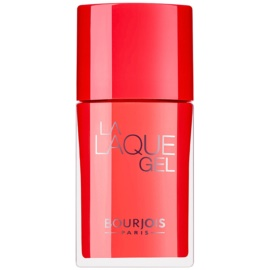Bourjois La Lacque Gel langanhaltender Nagellack Farbton 3 Orange Outrant 10 ml