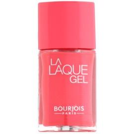 Bourjois La Lacque Gel hosszantartó körömlakk árnyalat 4 Flambant Rose 10 ml