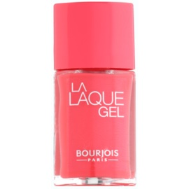 Bourjois La Lacque Gel vernis à ongles longue tenue teinte 4 Flambant Rose 10 ml