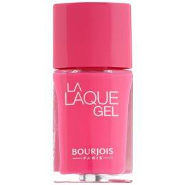 Bourjois La Lacque Gel langanhaltender Nagellack Farbton 6 Fuchsiao Bella 10 ml