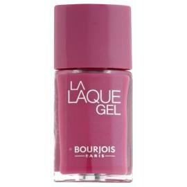 Bourjois La Lacque Gel hosszantartó körömlakk árnyalat 10 Beach Violet 10 ml