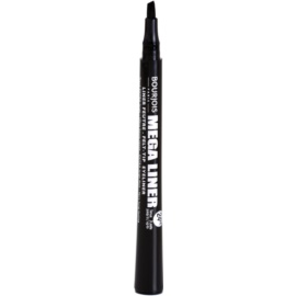 Bourjois Mega Liner fix na oční linky odstín 01 Dark Black  0,8 ml