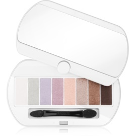 Bourjois Les Nudes paletta szemhéjpúder 8 szín árnyalat 01 Les Nudes 4,5 g