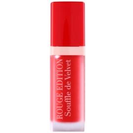 Bourjois Rouge Edition Souffle de Velvet rouge à lèvres liquide teinte 02 Coquelic`oh!  7,7 ml