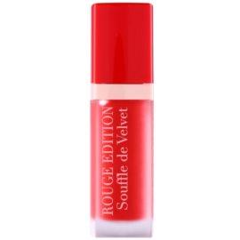 Bourjois Rouge Edition Souffle de Velvet tekutý rúž odtieň 02 Coquelic`oh!  7,7 ml