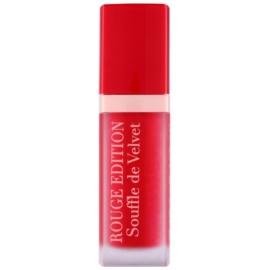 Bourjois Rouge Edition Souffle de Velvet rouge à lèvres liquide teinte 06 Cherryleaders  7,7 ml