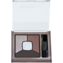 Bourjois Smoky Stories палітра тіней для smoky-eyes відтінок 05 Good Nude 3,2 гр