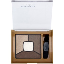 Bourjois Smoky Stories Palette mit rauchigen Lidschatten Farbton 06 Upside Brown 3,2 g