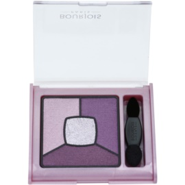 Bourjois Smoky Stories палітра тіней для smoky-eyes відтінок 07 In Mauve Again 3,2 гр