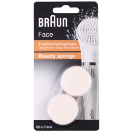 Braun Face 80-b Beauty Sponge Spare Heads 2 pcs