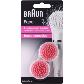 Braun Face 80-s Extra Sensitive Spare Heads 2 pcs