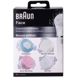 Braun Face  80-m Bonus Edition Ersatz-Kopf  4 St.